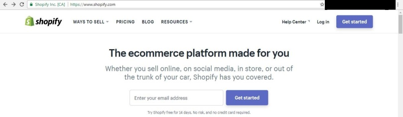 Start Your Online Store on Shopify