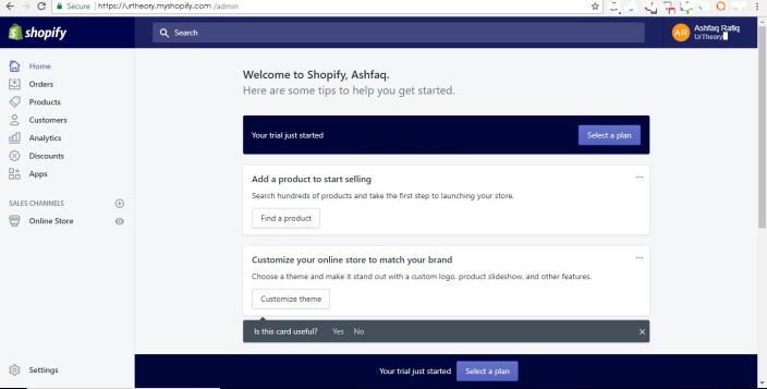 Shopify Store Development step 10