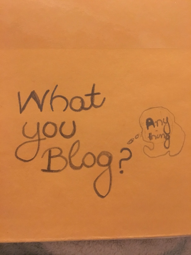 What You Blog?